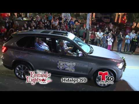 Hidalgo Festival of Lights Parade 2014