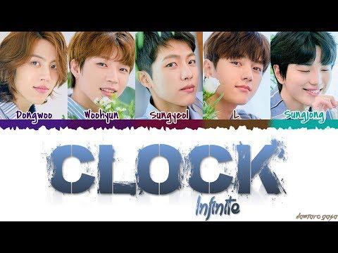 INFINITE (인피니트) - 'CLOCK' Lyrics [Color Coded_Han_Rom_Eng]