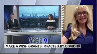 Front Row Phyllis Make-A-Wish Illinois - WGN 2020