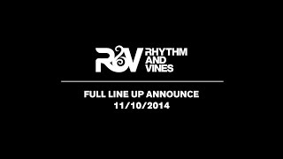 Rhythm & Vines - FINAL LINE UP