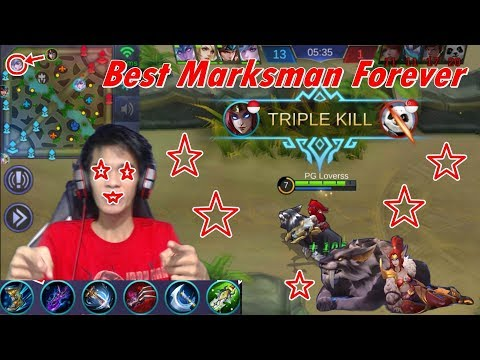 New Hero Irithel - Marksman Terbaik Sepanjang Masa - Irithel Build Review - Mobile Legends #59