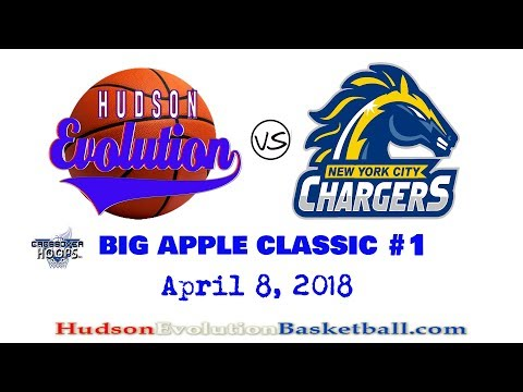 Hudson Evolution vs NYC Chargers   April 8, 2018   Big Apple Classic #1