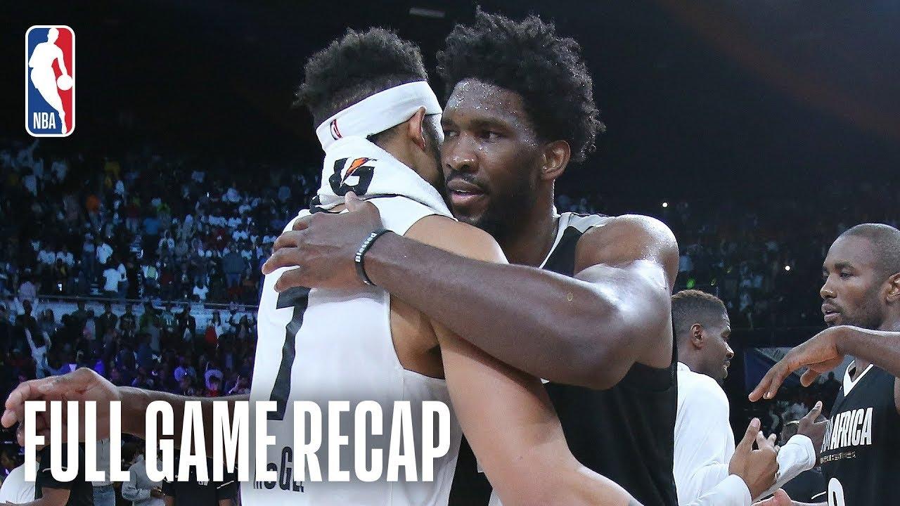 NBA Africa Game 2018 | Full Game RECAP