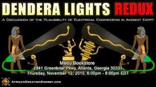 Promo: Dendera Lights Redux - Medu Bookstore, Nov 12, 2015, Atlanta, GA