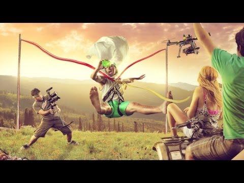 human-bungee-slingshot---human-catapult!