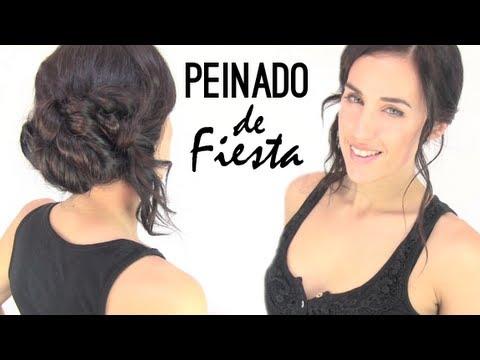 Peinado de fiesta paso a paso youtube - Ver peinados de fiesta paso a paso ...