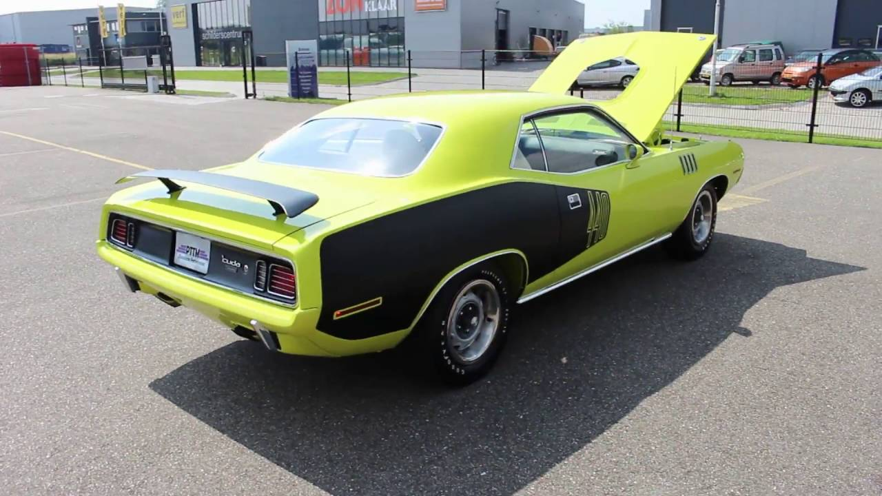 FOR SALE: 1971 Plymouth CUDA 440-6 pack shaker