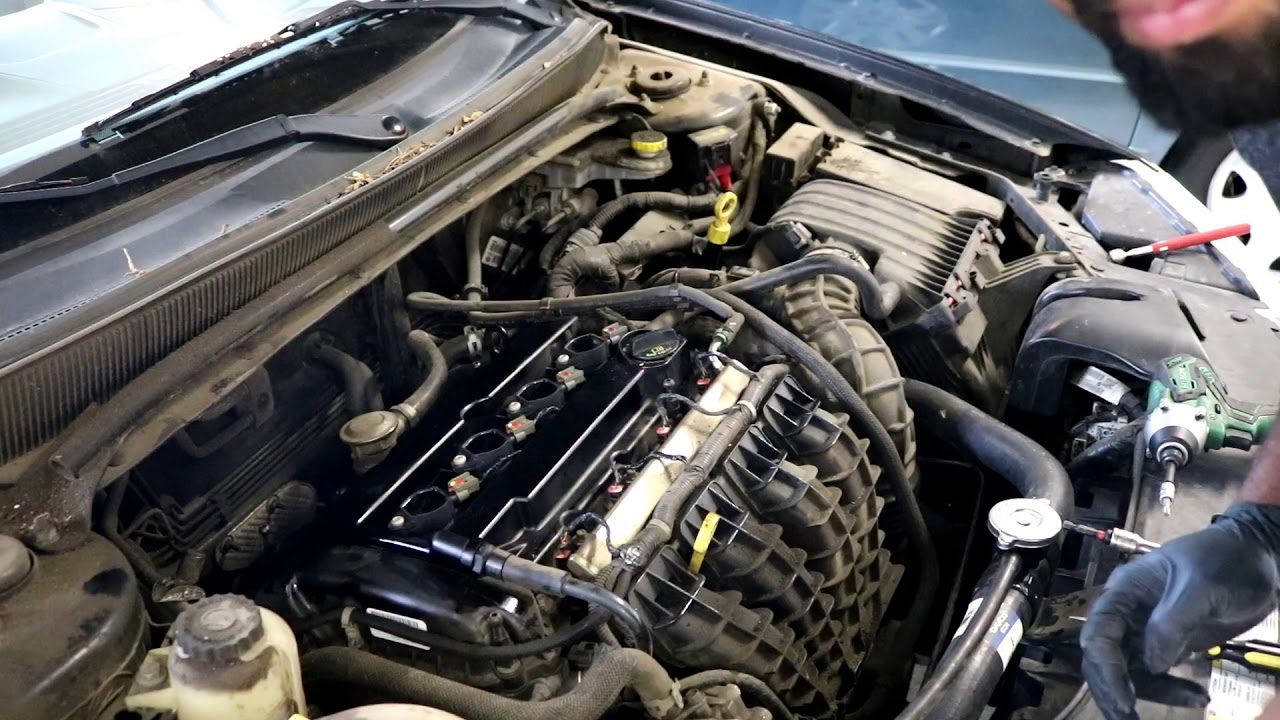 Dodge Avenger Tune up 4-cylinder (2007-2014) - YouTube