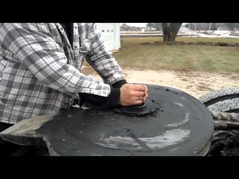 Fifth Wheel To Gooseneck Hitch >> Installing the Bridco Kingpin adapter - YouTube