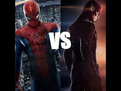 the flash vs the amazing spiderman {amv}