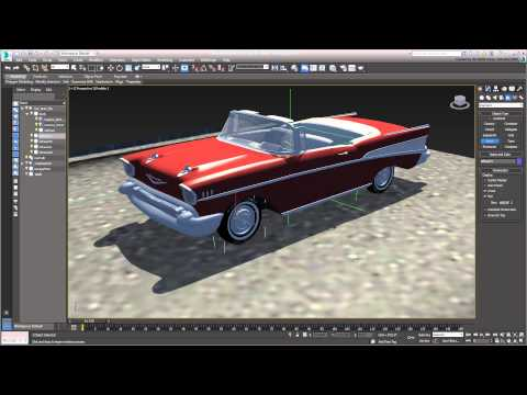 3ds Max Animating a Car Path - Part 01 - Introduction