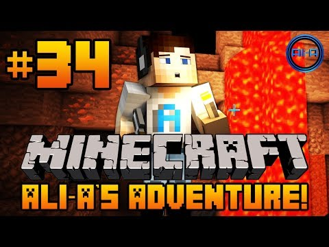 "Minecraft - Ali-A's Adventure #34! - ""BACK IN ACTION!"""