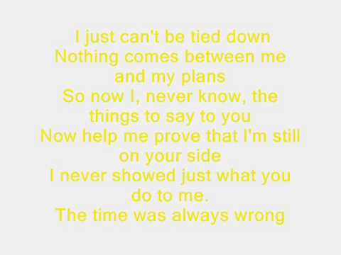 A Day To Remeber - All Signs Point To Lauderdale Lyrics