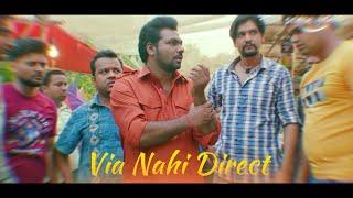 Via Nahi Direct - Chacha Vidhayak Hain Humare - Zakir Khan - Karan Malhotra - Zeeshan Khan