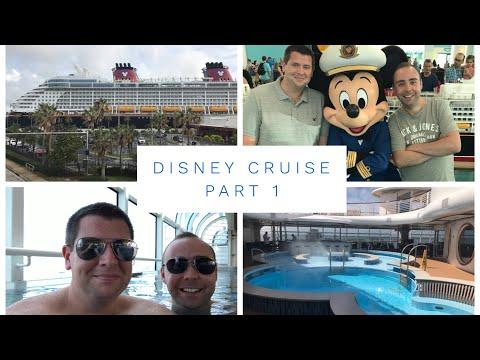 Disney Cruise Vlog - October 2017 - Part 1 - Boarding the Disney Dream