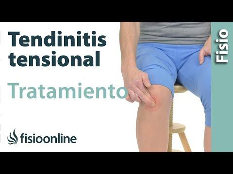 Tendinitis rotuliana de rodilla - Tratamiento con ejercicios, automasajes y estiramientos