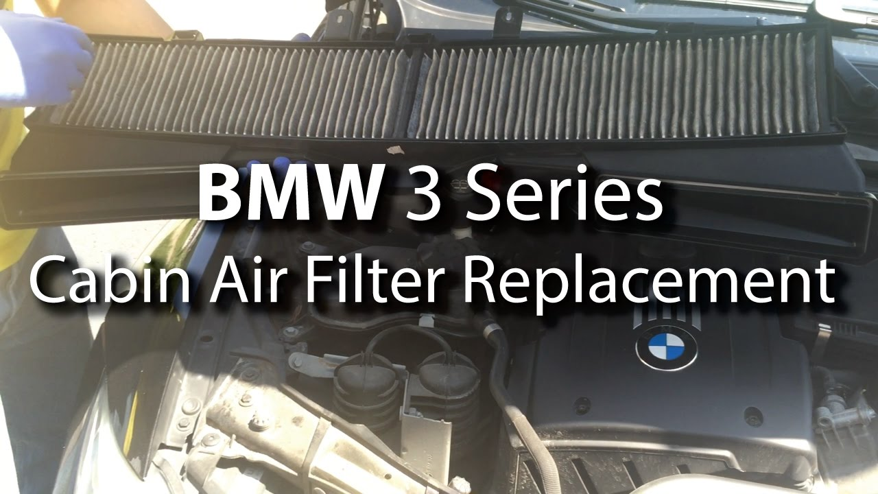 Bmw cabin air filter replacement diy are you breathing for What size cabin air filter do i need