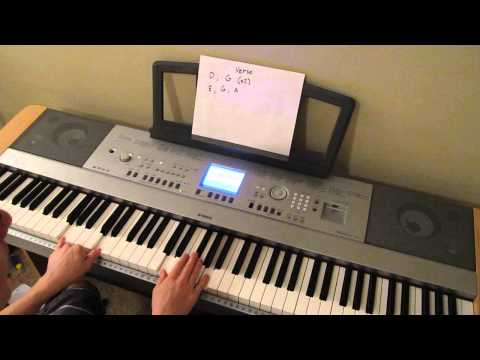Meridians Tutorial: How To Play Meridians by Greyson Chance Piano