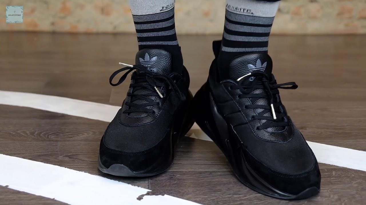 Adidas Shark all black - YouTube