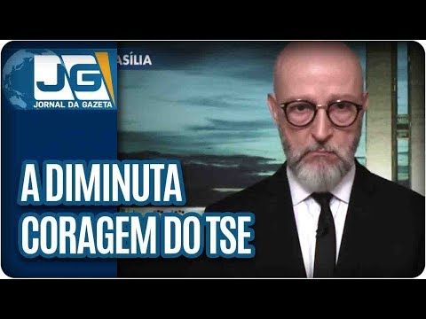 Josias de Souza/A diminuta coragem do TSE parece covardia