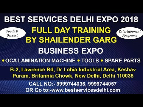 MACHINES & TOOLS EXPO IN DELHI WITH TRAINING