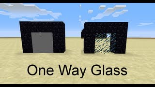 Minecraft: One Way Glass Walls in 13w38a