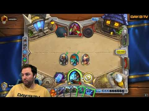 Day[9] HearthStone Decktacular #275 - Road to Legend Freeze Mage P2