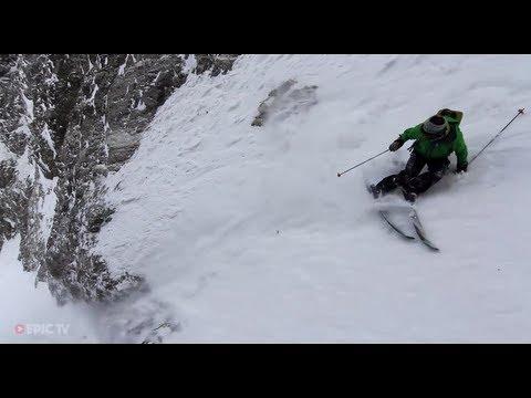 Extreme Skier Giulia Monego Skis Big Lines in La Grave, France - Turns & Curves, Episode 2