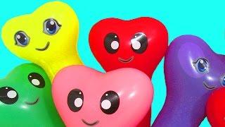 Download Шарики с водой Учим цвета Развивающее видео Детям Поем песню Семья пальчиков Лопаем Воздушные шарики Mp3 and Videos