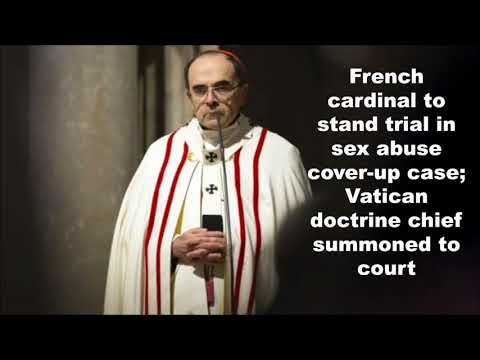 French Cardinal to Stand Trial