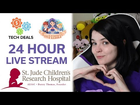 24 Hour Live Stream + Giveaway - Come Help Support Charity