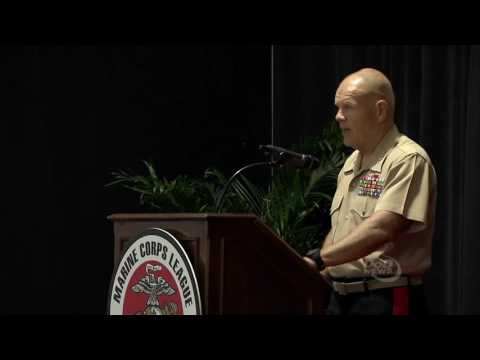 Marine Commandant Speaks at Modern Day Marine Expo