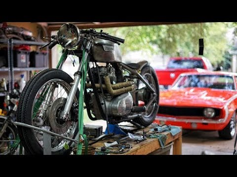 Triumph Hardtail  Wiring Part 2 - YouTube