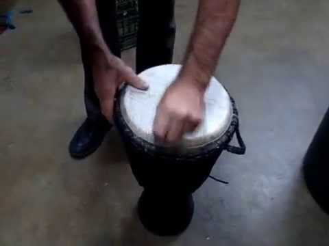 cleaning drum head