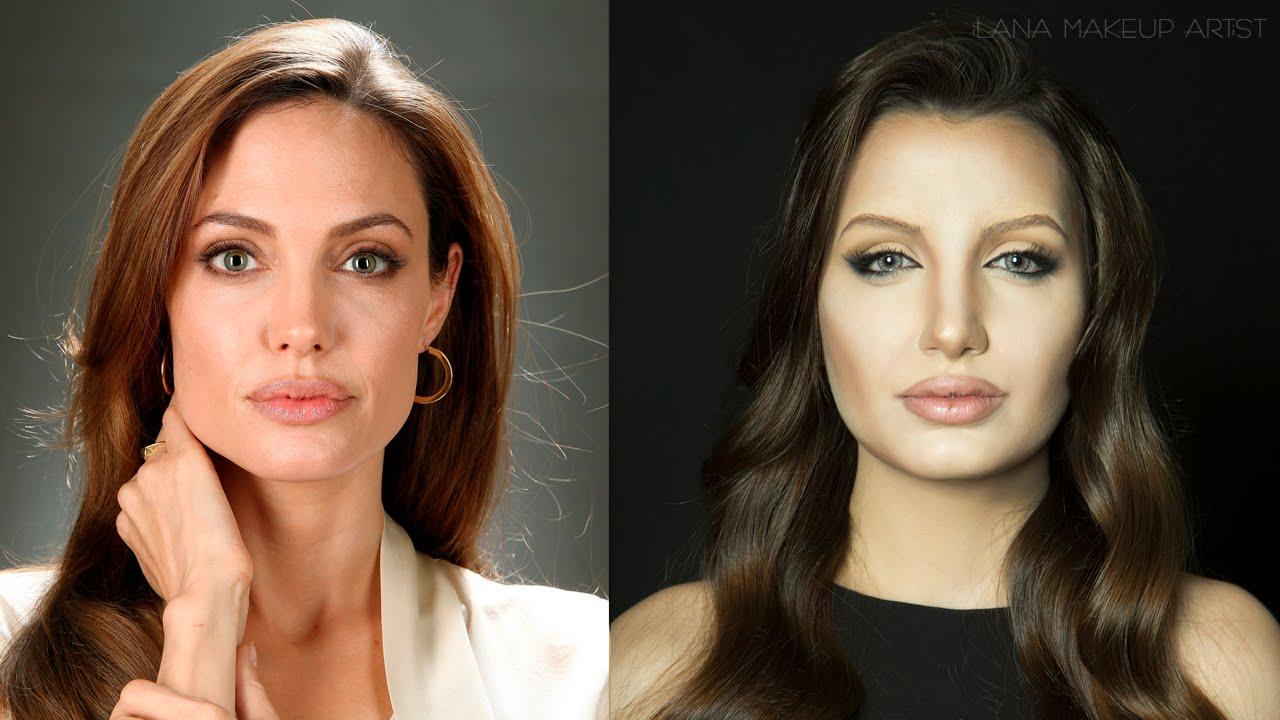 Angelina Jolie Makeup Transformation Ilana K Artist