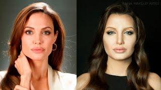 Angelina Jolie Makeup Transformation | Ilana K. Artist