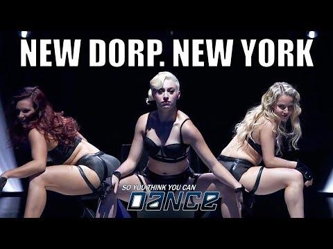 New Dorp. New York - SBTRKT feat Ezra Koenig   SYTYCD Season 12   Brian Friedman Heels Choreo