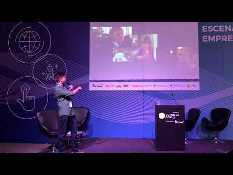 """Santiago Falzone """"Aprendiendo a Emprender"""" Campus Party Argentina 2018"""
