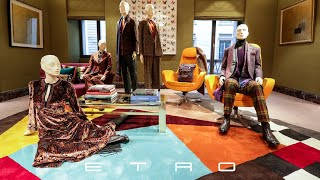 ETRO's Visual Merchandising Benefits From MockShop