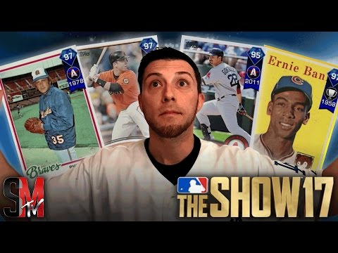 CHAT DRAFTS OP TEAM! MLB THE SHOW 17 BATTLE ROYALE GAMEPLAY