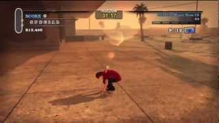 Tony Hawk HD: Ollie the Magic Bum Locations