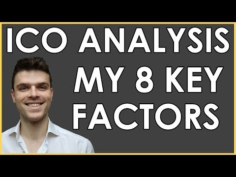 How to find GOOD ICOs - My 8 KEY Factors| ICO Analysis | Cryptocurrency
