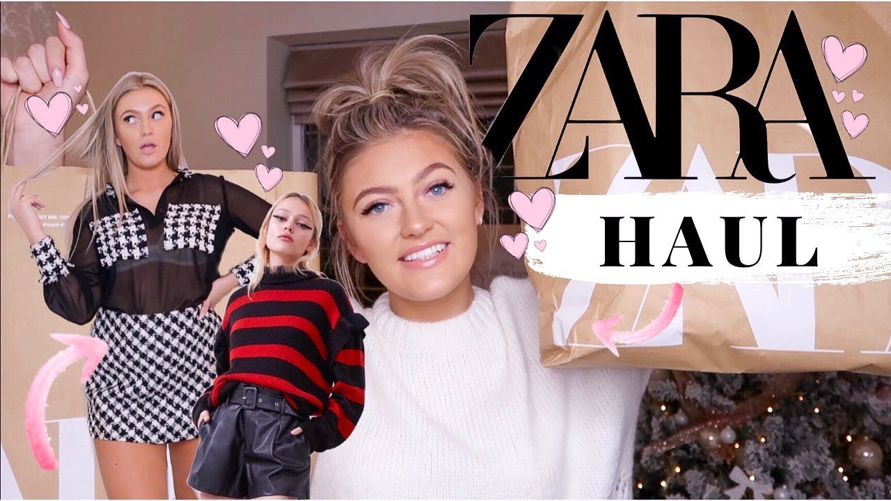 [VIDEO] - HUGE ZARA TRY ON HAUL!!!   WINTER/ CHRISTMAS OUTFITS!!! 2