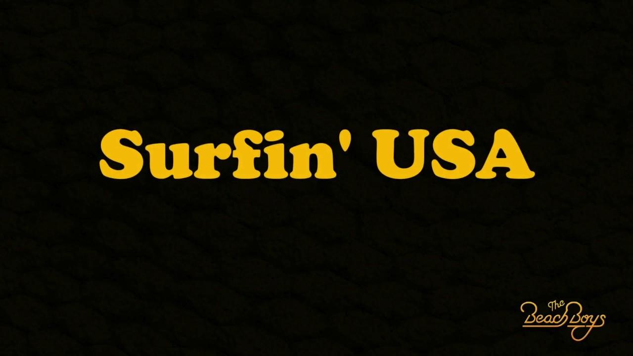 The Beach Boys Surfin Usa Lyrics
