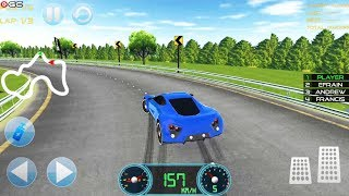 Real Fast Concept Sport Car Racing Track Simulator - Android Gameplay FHD