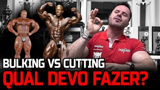 BULKING VS CUTTING - QЏAL DEVO FAZER?