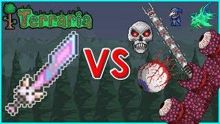 Terraria - Meowmere vs Bosses | Biron