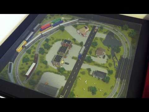 Creating The Greatest From Your Landscaping -N Scale Train Set In Ikea Coffee Table
