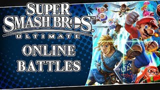 LIVE Super Smash Bros. Ultimate - Online Battles and Unlocking Characters!
