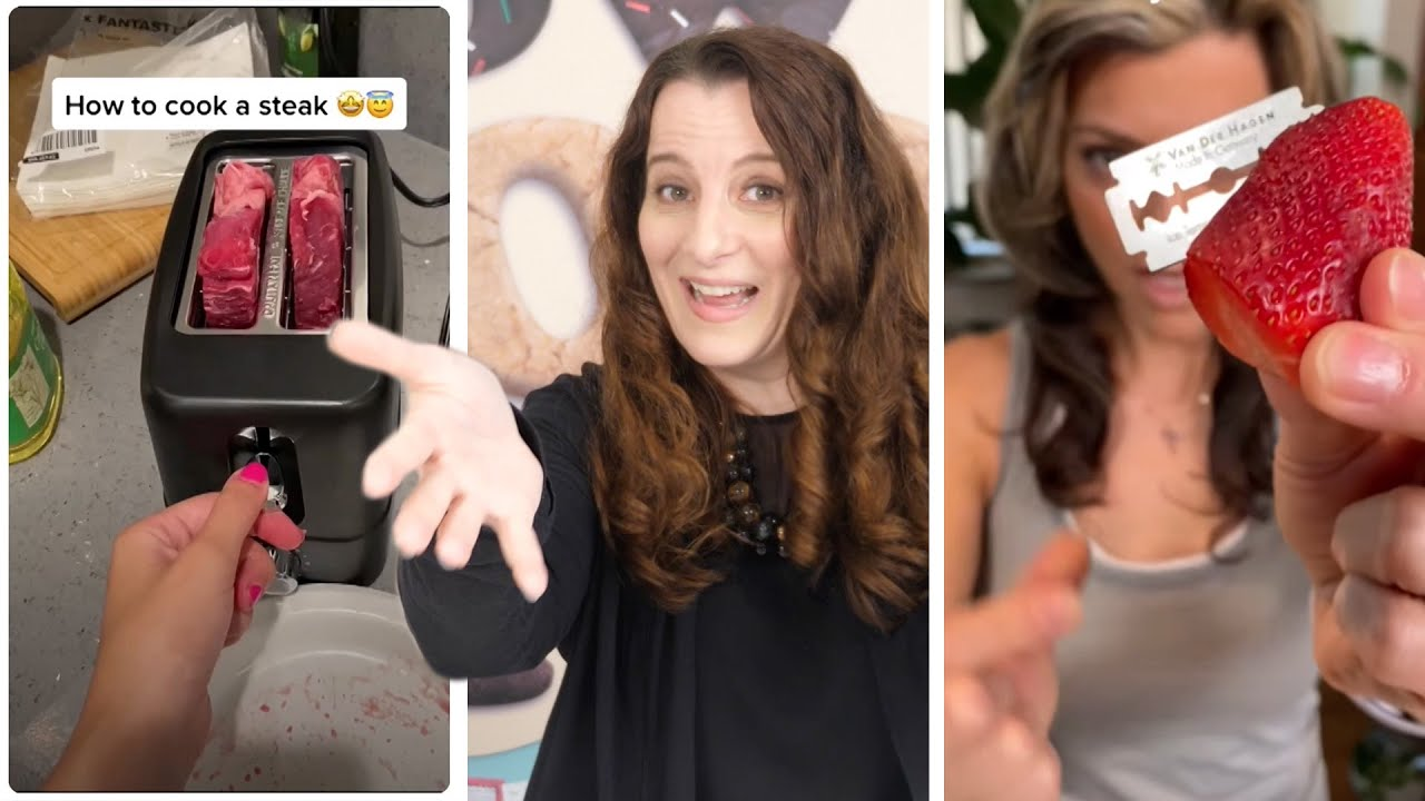 Debunking viral TIK TOK videos | How To Cook That Ann Reardon